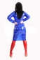 Preview: DR37L - PVC Hemdkleid Midi