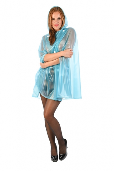 CA11 - PVC Cape im Retro Design