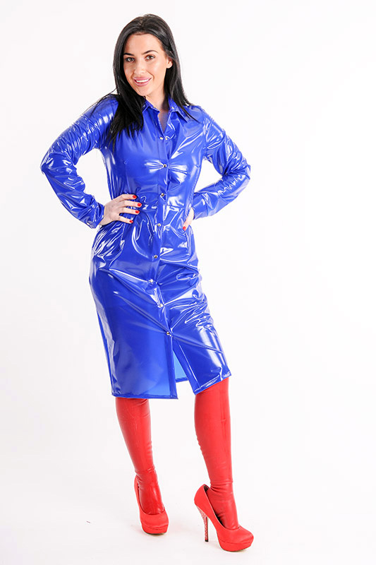 Pvc And Plastic Dresses : Kemo cyberfashion online store for pvc plastic and vinyl
